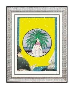 ERTE Serigraph Original SIGNED DECO ARTWORK Romain Tirtoff Set DESIGN Painting