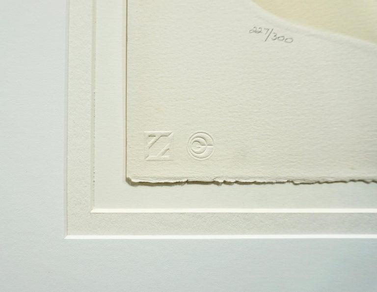 Eté et Hiver / Summer and Winter - Brown Portrait Print by Erté
