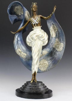 ERTE Sculpture Dream Girl signed and Numbered Bronze