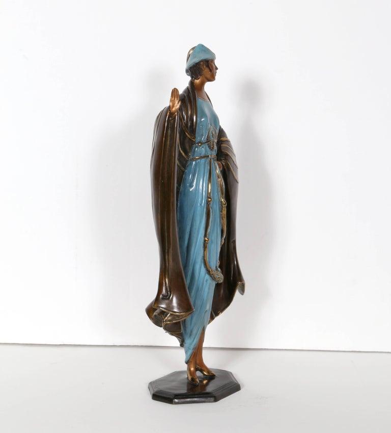 Rue De La Deco erte (romain de tirtoff) - rue de la paix, bronze art deco sculpture