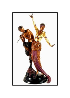 $20,000 ERTE Signed BRONZE Sculpture WOMAN and SATYR Original Romain de Tirtoff