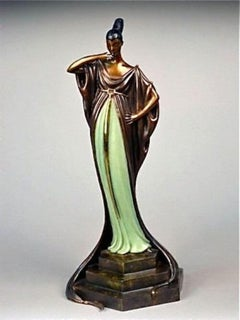 An Evening in 1922 (Bronze), Limited Edition, Erte - MINT CONDITION