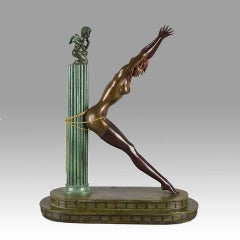 Erte Prisoner of Love (Bronze), Limited Edition Signed Numbered Retail-$20,000