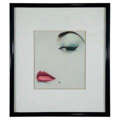 """Erwin Blumenfeld Doe Eye """"Oeil de Biche"""" Offset Lithograph"""