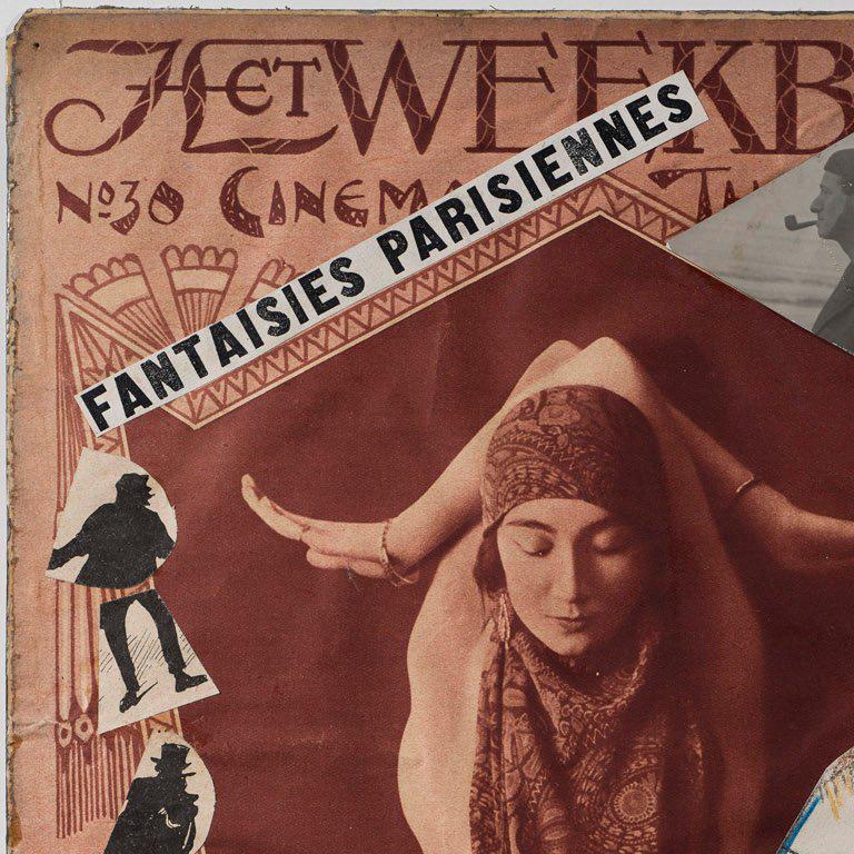Fantaisies Parisiennes - Dada Mixed Media Art by Erwin Blumenfeld