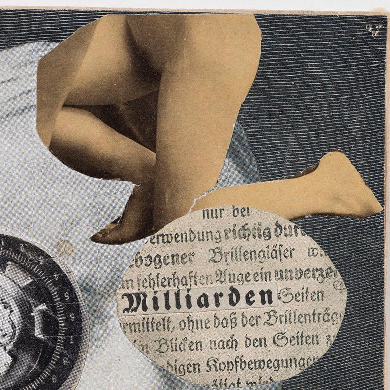 Kapitalist - Dada Mixed Media Art by Erwin Blumenfeld
