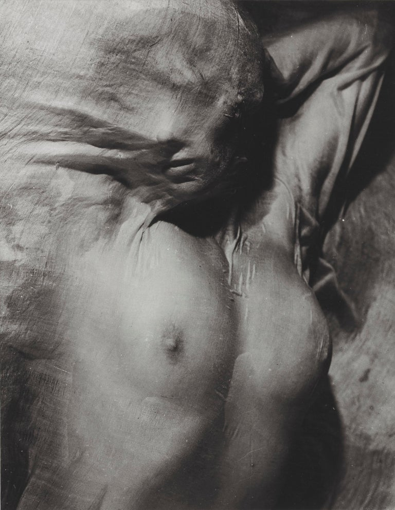 Nude Under Wet Silk, Paris, 1937 - Erwin Blumenfeld - Photograph by Erwin Blumenfeld