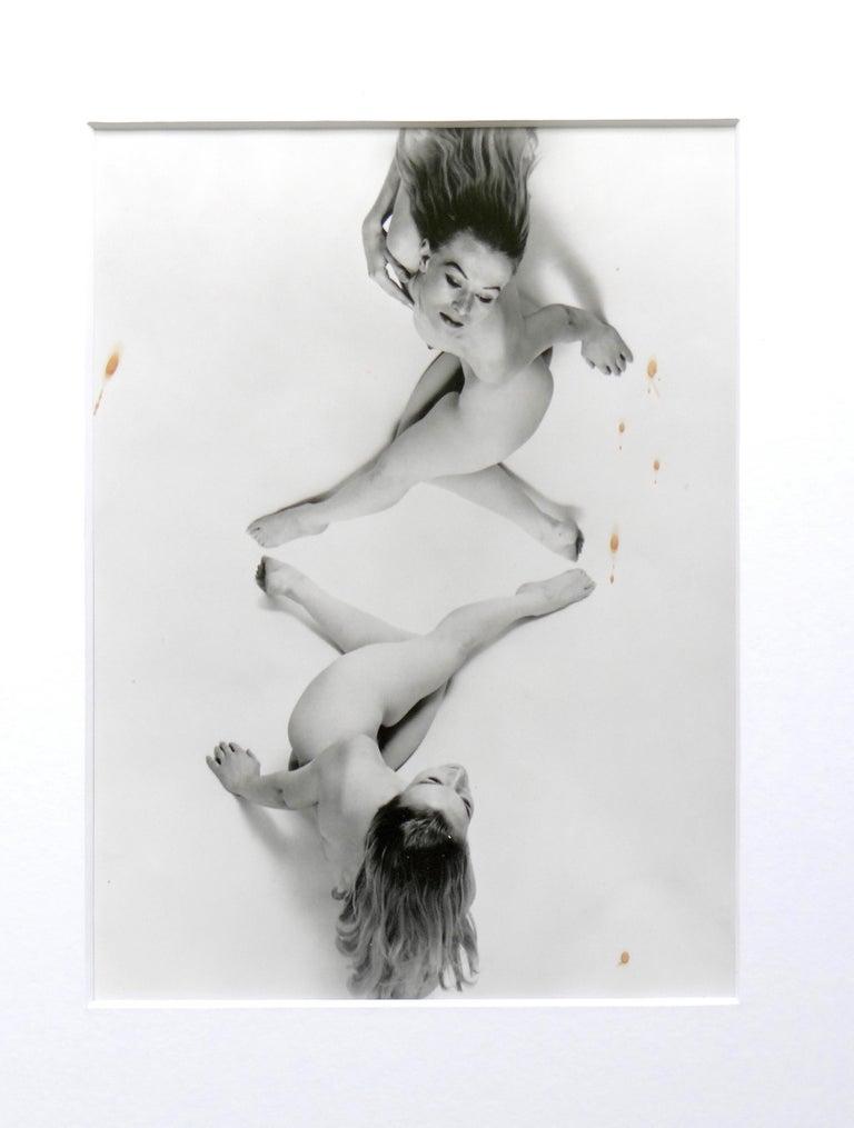 Erwin Blumenfeld Nude Photograph - Untitled, New York. Framed