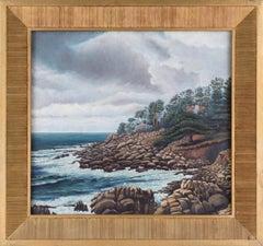 """Monterey Coast"" - Landscape 1938"