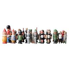 Erzgebirge Toy Figures, circa 1930