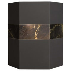Esa Black Stackable Catchall Box
