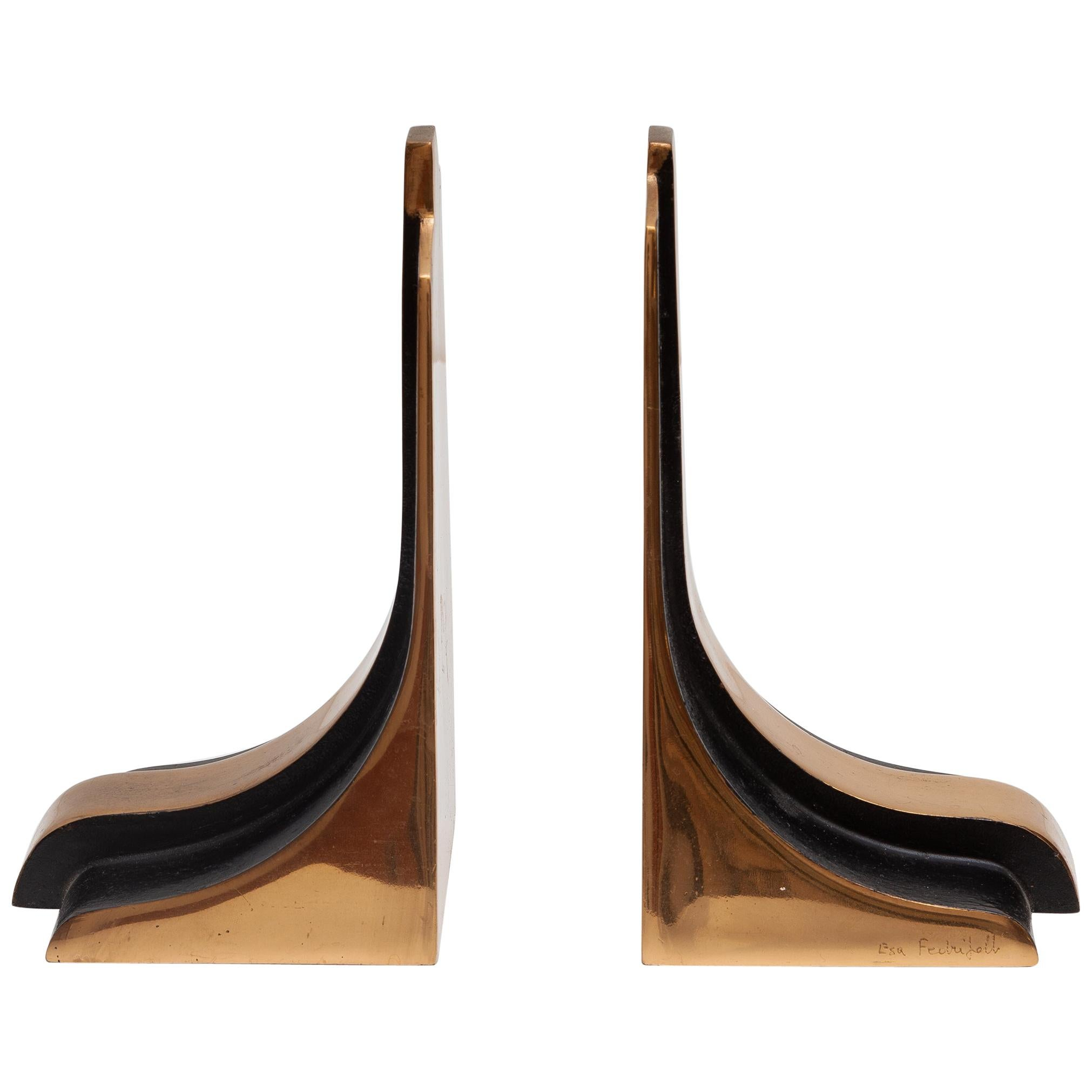 "Esa Fedrigolli Bookends Manufacture ""Esart Made in Italy"", 1970s"