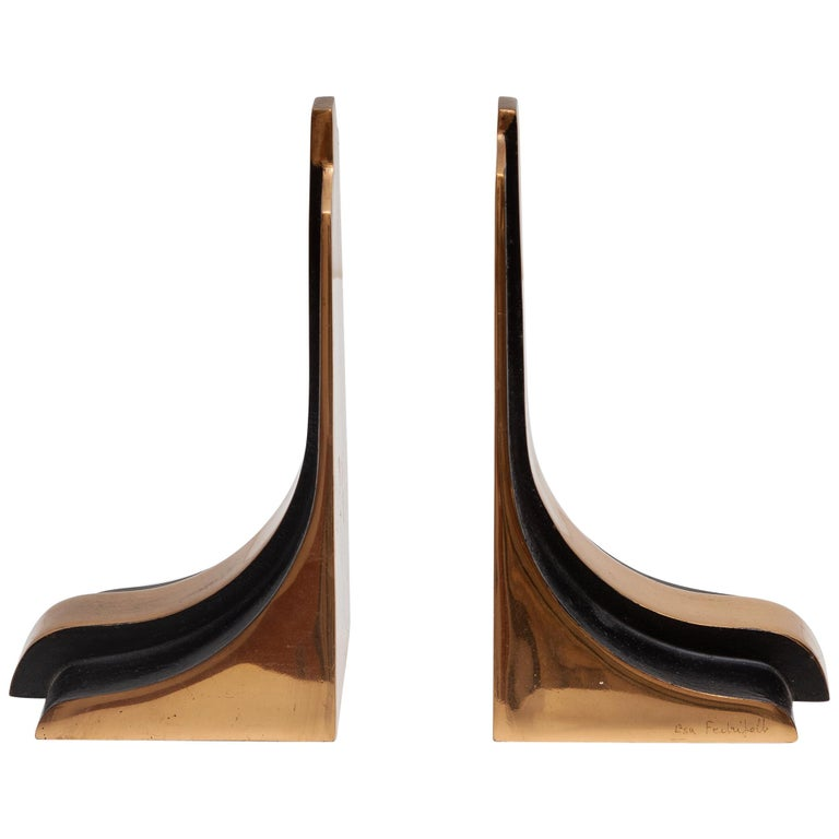 """Esa Fedrigolli Bookends Manufacture """"Esart Made in Italy"""", 1970s For Sale"""