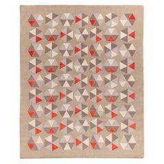 Esagoni Coral Carpet by Gio Ponti