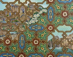 oil painting architecture arabesque Mosaic Art, Painting, Oil on Canvas
