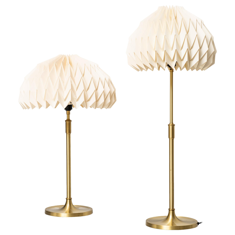 Esben Klint Table Lamps Model 307 by Le Klint in Denmark