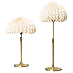 Esben Klint Table Lamps Model 307 by Le Klint in Denmark
