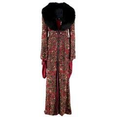 Escada Embellished Vintage Gown size S