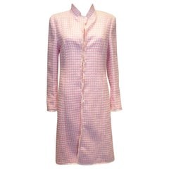 Escada Pink and White Coat