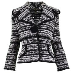 Escada Textured Bouclé Tweed Jacket