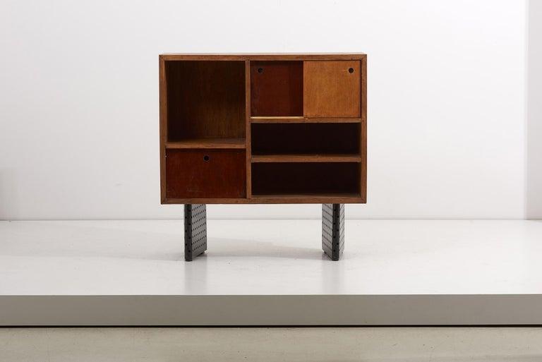Metal Escande Cabinet designed for University D' Antony, France For Sale