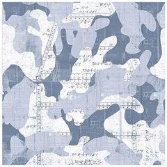 Escape, Dusk Color-Way, on Pearl Smooth Vinyl Wallpaper