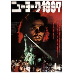 Escape from New York 1981 Japanese B2 Film Poster