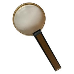 Eschenbach Optic Very High Quality Gold Hand Magnifier Made in Germany