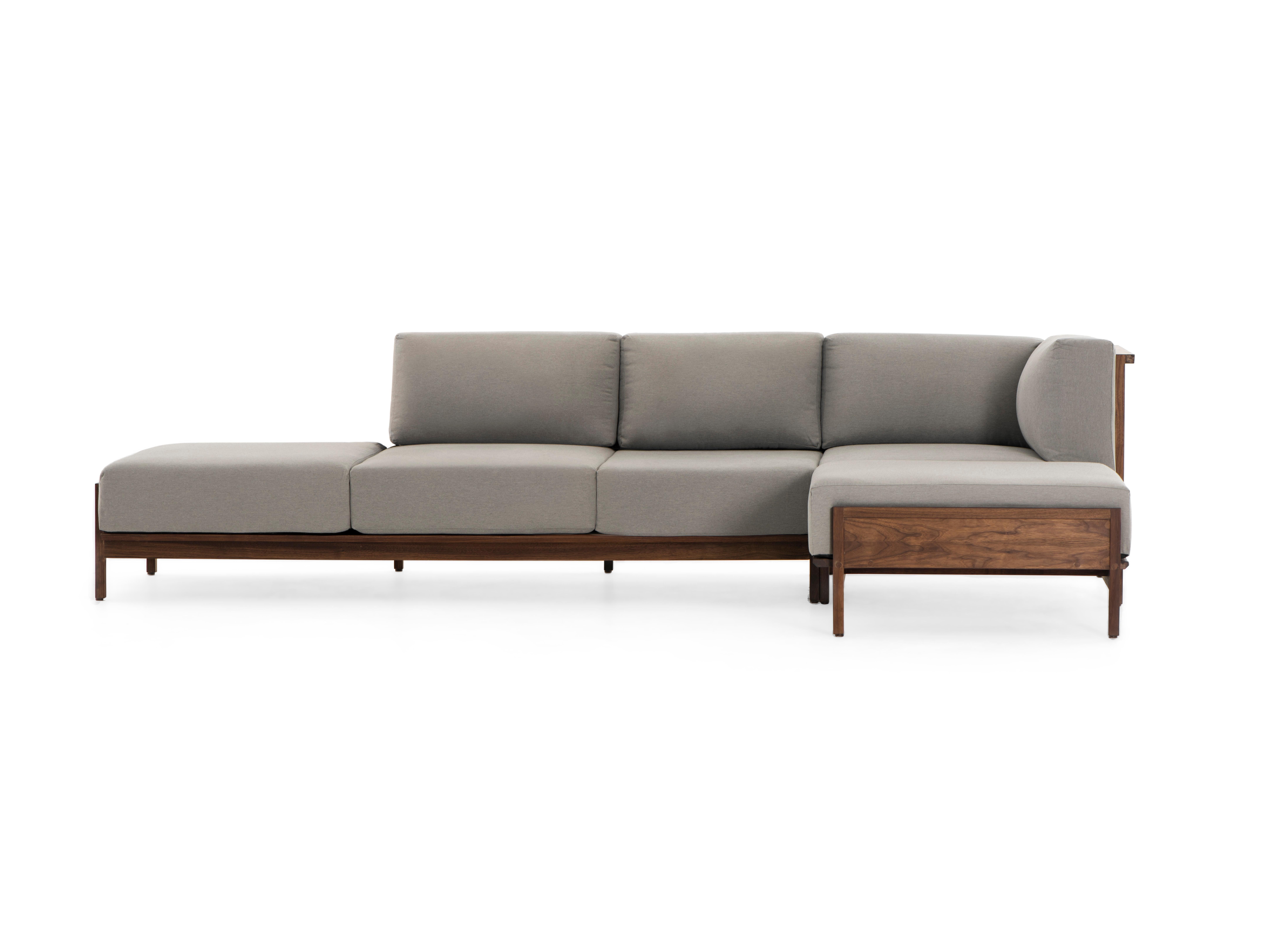 Escuadra Comfort 5p, Mexican Contemporary Sofa by Emiliano Molina for  Cuchara