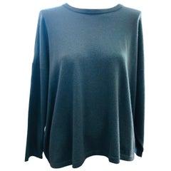 ESKANDAR Oversized Crewneck Cashmere Sweater