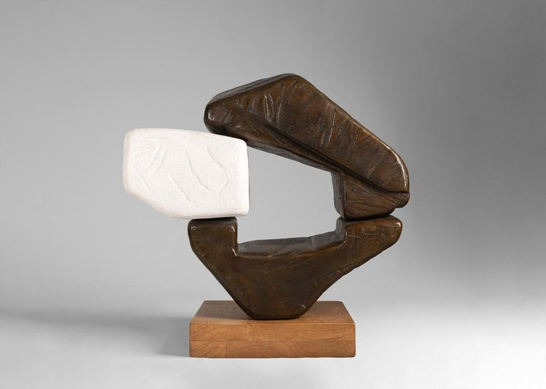 Zigor's work is shaped by his relationship to the environment of the Basque region-both by the natural landscape as well as the significance of the Basque identity. His sculptures and drawings are marked by an enduring simplicity and a sensitivity