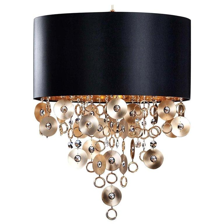 Esmeralda Black Pendant Lamp For Sale