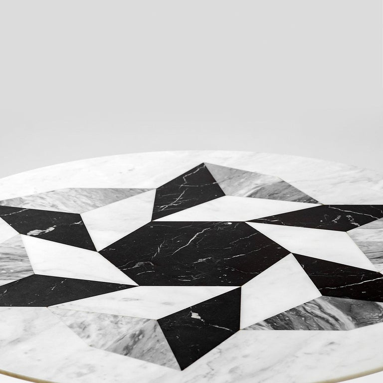 Esopo Cubic Coffee Table with Geometric Wheel by Antonio Saporito In New Condition For Sale In Milan, IT