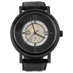 Esposto Automatic Watch, Black IP