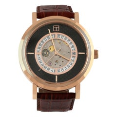 Esposto Automatic Watch, Rose Gold IP