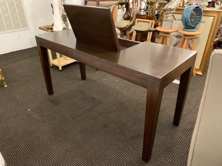 American Espresso Finish Art Deco Style Vanity/ Writing Desk For Sale
