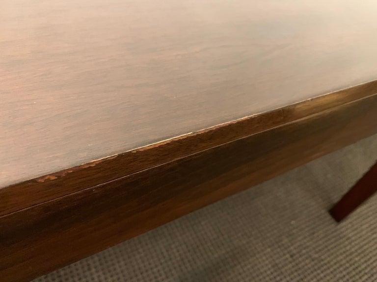 Espresso Finish Art Deco Style Vanity/ Writing Desk For Sale 2