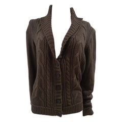 Esprit brown wool sweater / cardigan
