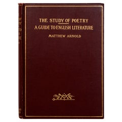 Essays on the Study of Poetry & a Guide to English Literature by Matthew Arnold