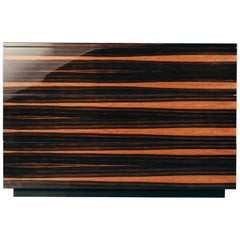 Essence Drawer in Glossy Lacquered Ebony