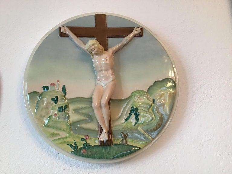 """Essevi """"Sandro Vacchetti """" ceramic, 1940, Italy."""