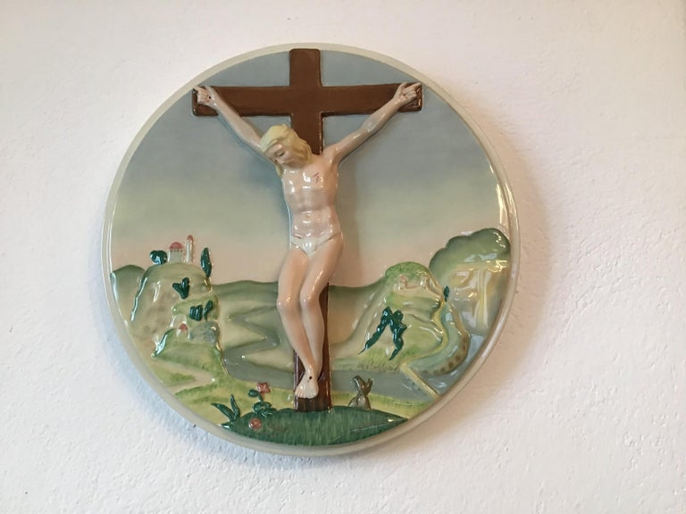 "Italian Essevi ""Sandro Vacchetti"" Ceramic, 1940, Italy For Sale"