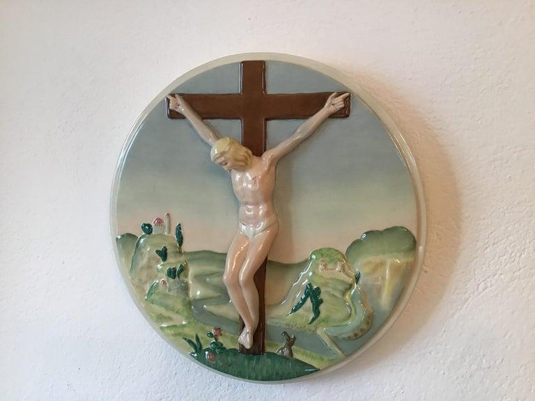 """Essevi """"Sandro Vacchetti"""" Ceramic, 1940, Italy In Excellent Condition For Sale In Milano, IT"""