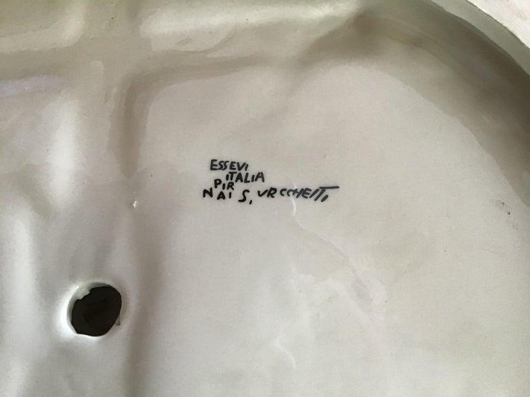 """Mid-20th Century Essevi """"Sandro Vacchetti"""" Ceramic, 1940, Italy For Sale"""