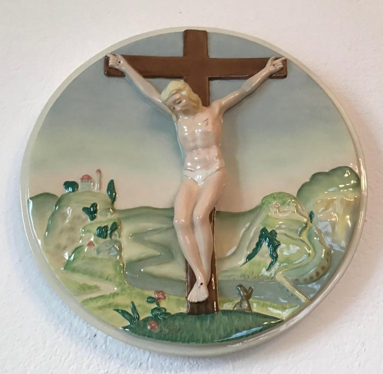 "Essevi ""Sandro Vacchetti"" Ceramic, 1940, Italy For Sale 1"
