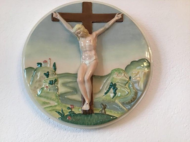 """Essevi """"Sandro Vacchetti"""" Ceramic, 1940, Italy For Sale 2"""