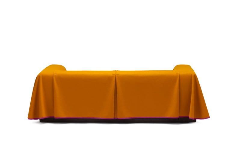 Established & Sons Cape Sofa in Magenta by Konstantin Grcic For Sale 2