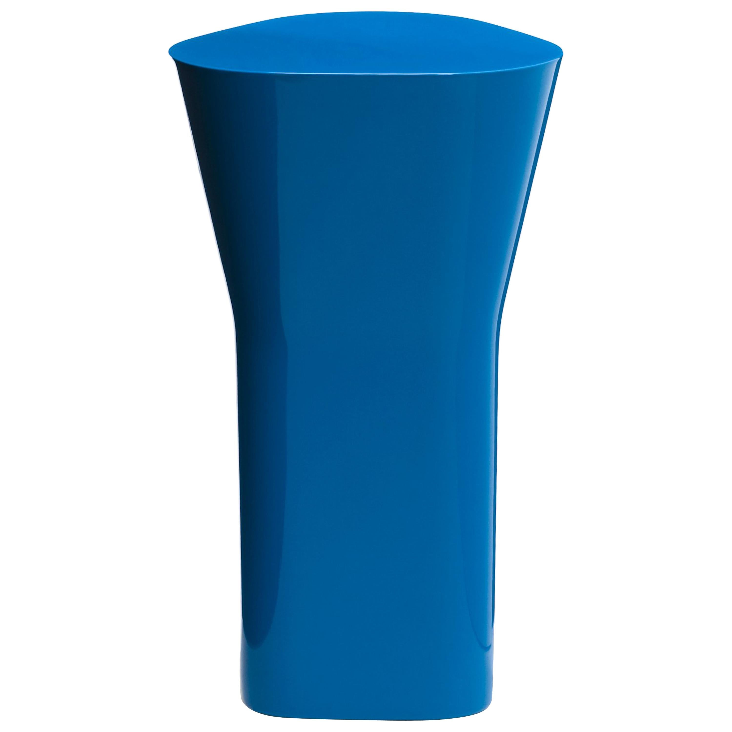 Established & Sons Delta Ceramic Side Table in Blue by Barber & Osgerby