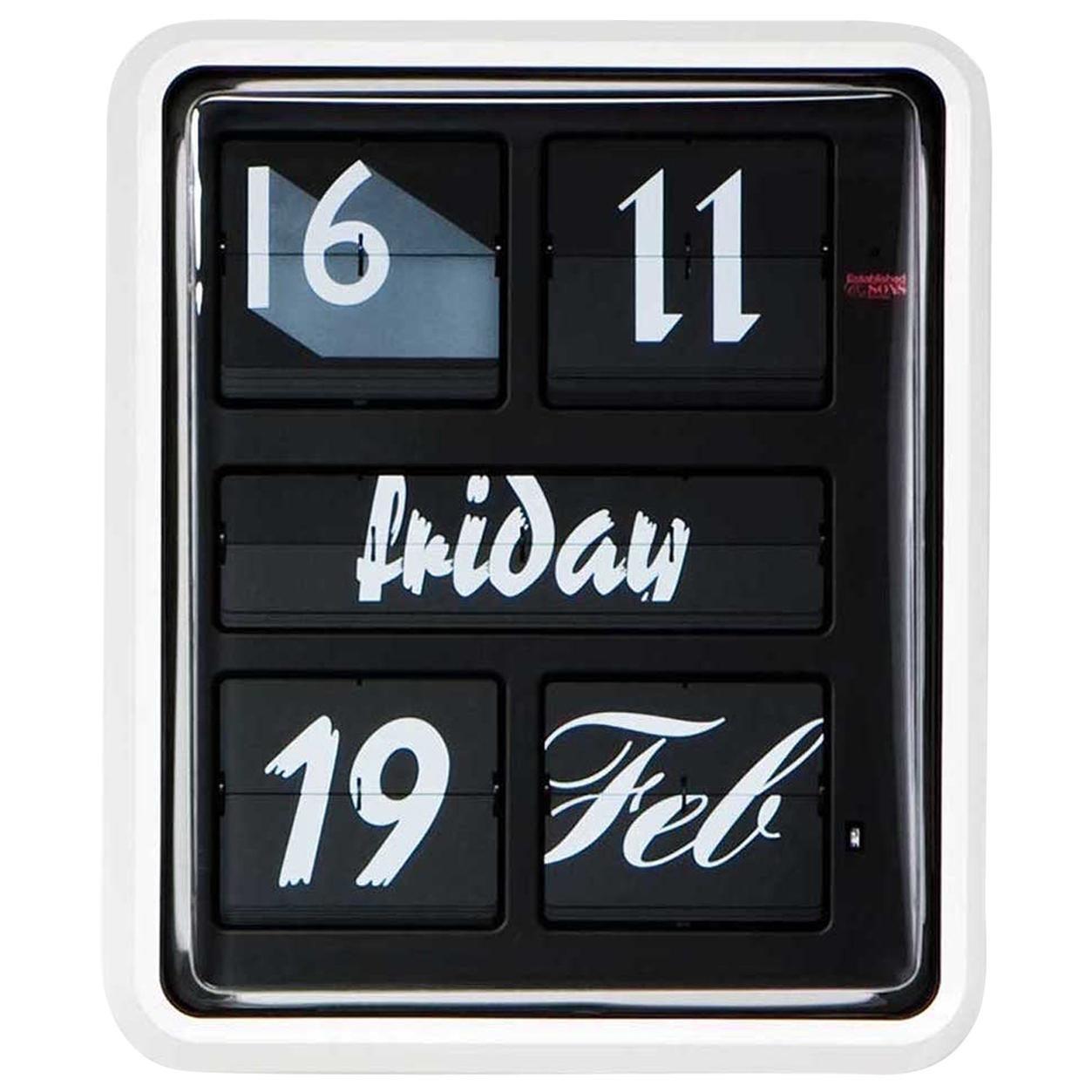 Established & Sons Large Font Clock by Sebastian Wrong