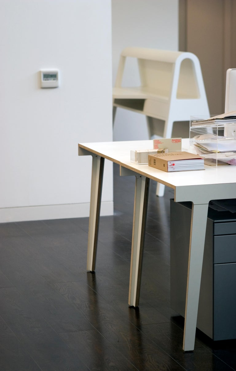Plywood Established & Sons M5 Dining Table by Frank For Sale